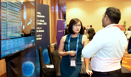 Industry solution architects at World Blockchain Summit Singapore.